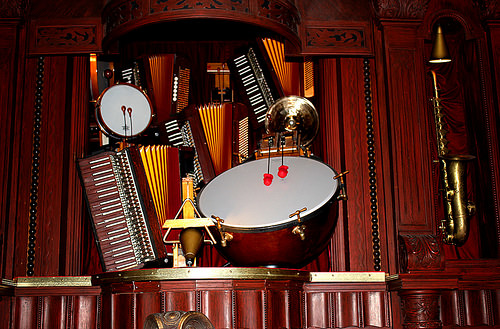 Photo of musical instruments